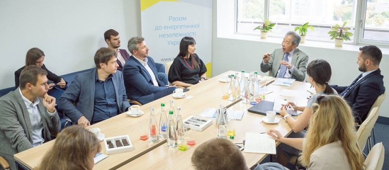 Olena Pavlenko joined the discussion on mining reform with an American expert