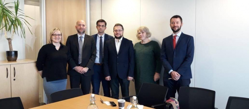 DiXi Group discusses in Brussels development of Ukraine's energy sector