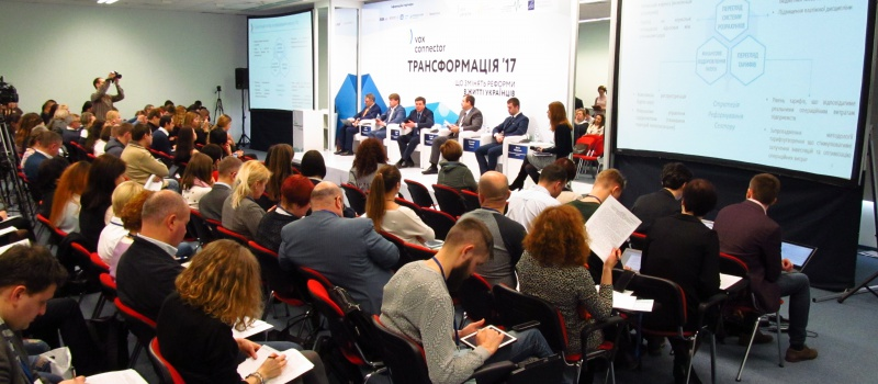 DiXI Group's Representative Became a Participant of the Conference Hosted by Vox Ukraine
