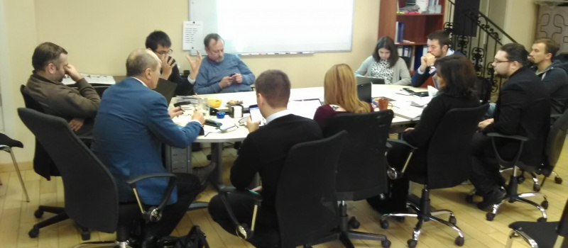 Coalition of USAID Transparent Energy Project Discussed the First Online Map Layout