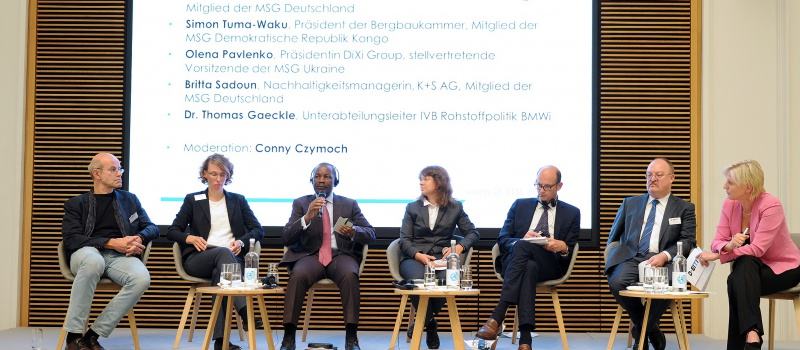 Olena Pavlenko participated in the presentation of the first EITI Report in Germany
