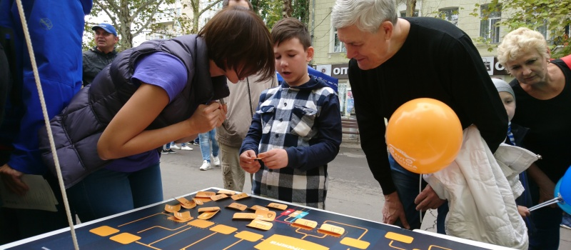 """Representatives of DiXi Group took part in the USAID """"town"""" in Mykolaiv"""