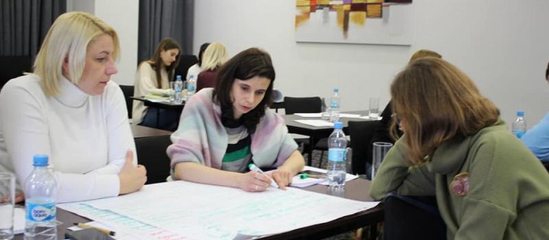 Асоціацію «ЕнергоТранспарентність» навчали підходам у комунікаціях