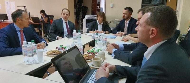 DiXi Group Representatives Meet U.S. Assistant Secretary of State, Head of the Energy Resources Bureau Francis Fannon