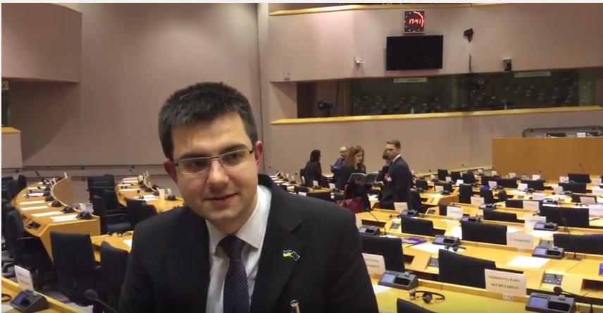Антон Антоненко з Європарламенту (відеоблог (29.02.16)