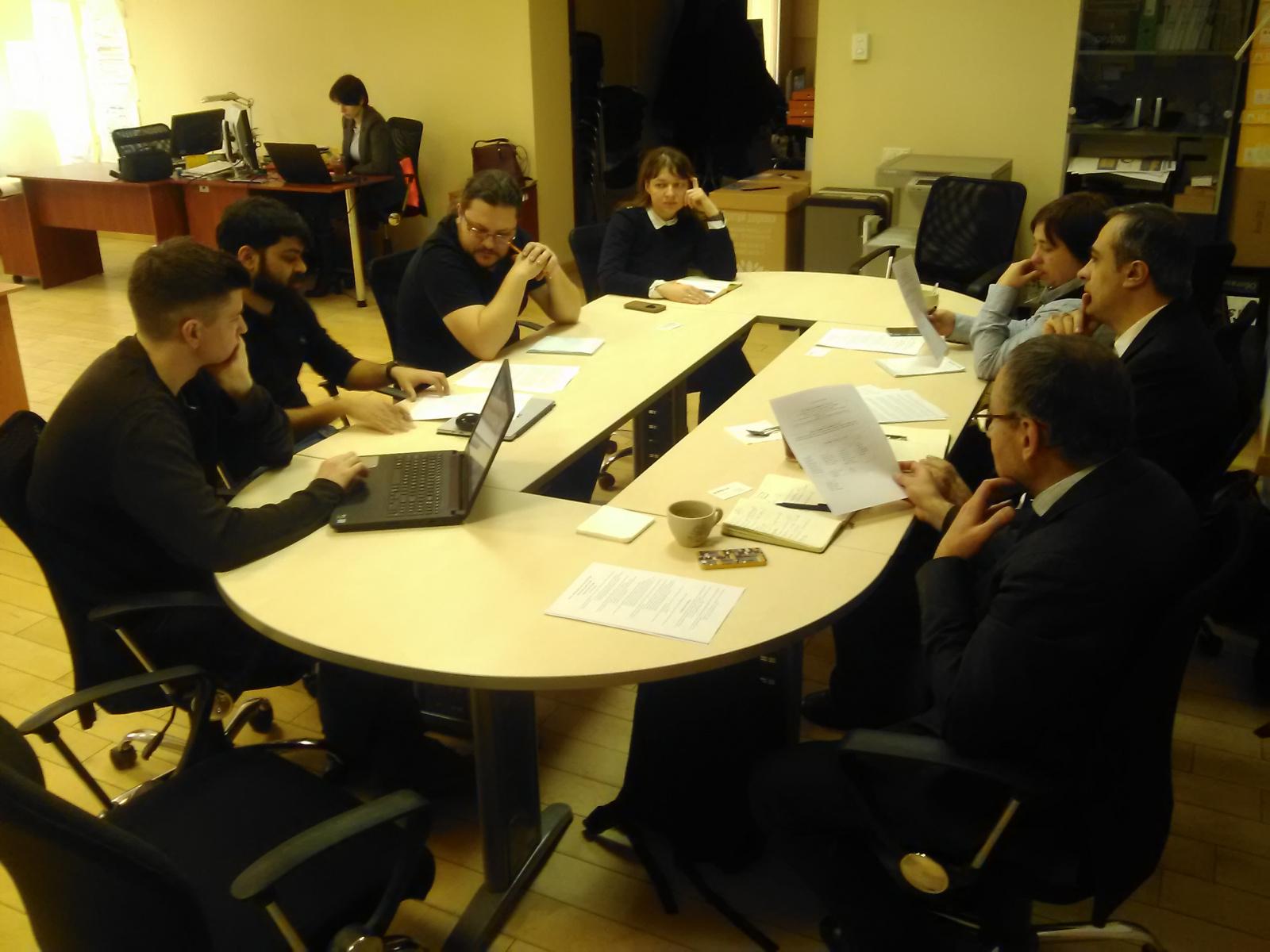 Зустріч з консультантами ЄС