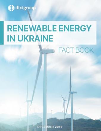 Renewable Energy In Ukraine. Fact book
