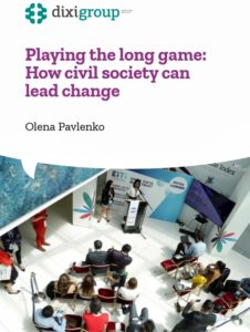 PLAYING THE LONG GAME: HOW CIVIL SOCIETY CAN LEAD CHANGE