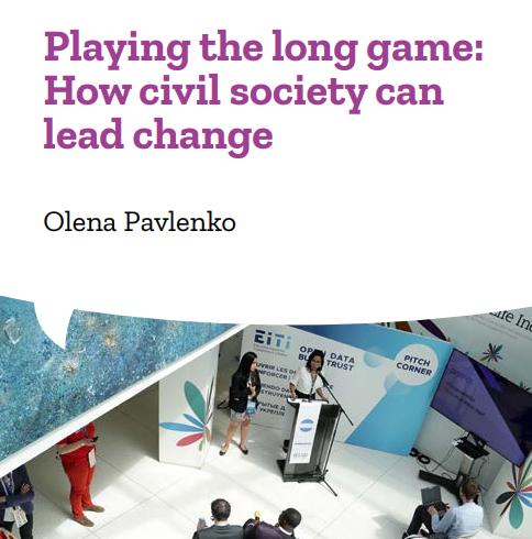 Гра в довгу: як громадянське суспільство може очолювати зміни – брошура від президентки DiXi Group