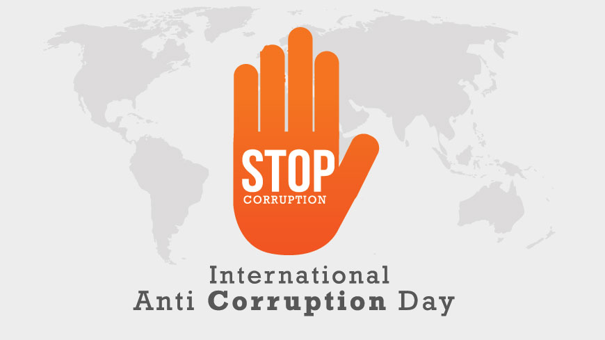 DiXi Group вітає всіх із  Міжнародним днем боротьби з корупцією
